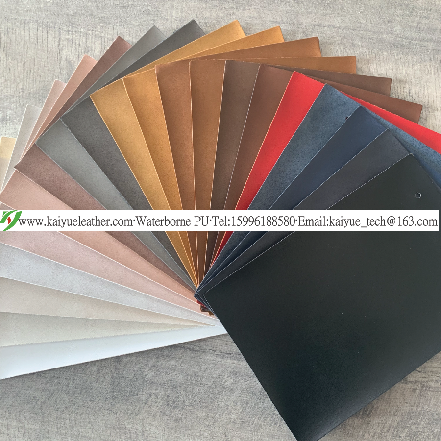Water-based PU leather manufacturer